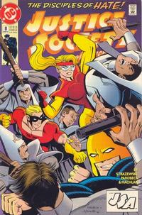 Cover Thumbnail for Justice Society of America (DC, 1992 series) #8 [Direct]