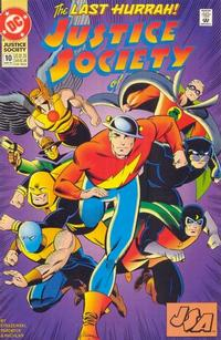 Cover Thumbnail for Justice Society of America (DC, 1992 series) #10 [Direct]