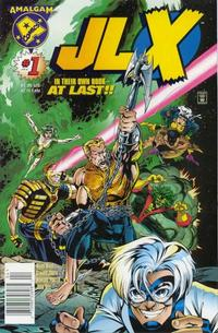 Cover Thumbnail for JLX (DC, 1996 series) #1 [Newsstand Edition]