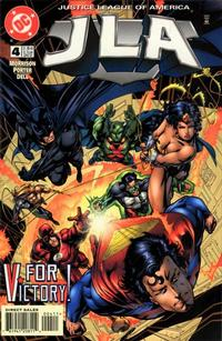 Cover Thumbnail for JLA (DC, 1997 series) #4