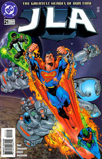 Cover Thumbnail for JLA (DC, 1997 series) #21 [Direct Sales]