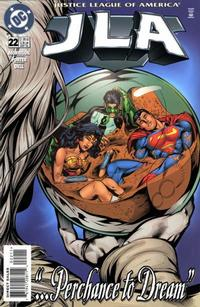 Cover for JLA (DC, 1997 series) #22 [Newsstand]