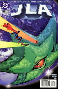 Cover for JLA (DC, 1997 series) #23 [Direct Sales]
