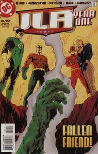 Cover Thumbnail for JLA: Year One (DC, 1998 series) #10 [Direct Sales]