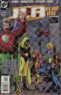 Cover Thumbnail for JLA: Year One (DC, 1998 series) #11 [Direct Sales]