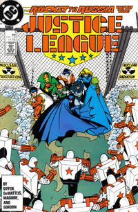 Cover Thumbnail for Justice League (DC, 1987 series) #3 [Direct]