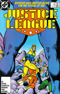 Cover Thumbnail for Justice League (DC, 1987 series) #4 [Direct]
