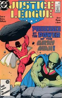 Cover Thumbnail for Justice League (DC, 1987 series) #6 [Direct]