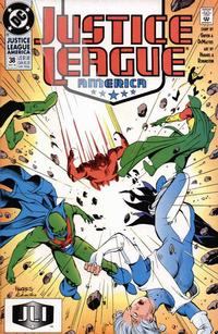 Cover Thumbnail for Justice League America (DC, 1989 series) #38 [Direct]