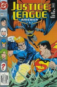 Cover Thumbnail for Justice League America (DC, 1989 series) #66 [Direct]