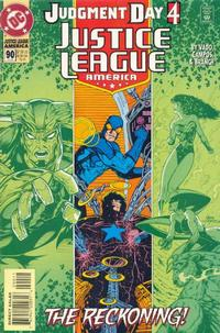 Cover Thumbnail for Justice League America (DC, 1989 series) #90 [Direct Sales]