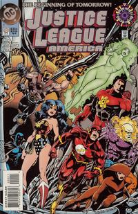 Cover Thumbnail for Justice League America (DC, 1989 series) #0 [Direct Sales]