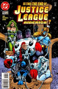 Cover Thumbnail for Justice League America (DC, 1989 series) #113