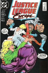 Cover Thumbnail for Justice League Europe (DC, 1989 series) #5 [Direct]