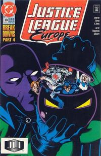 Cover Thumbnail for Justice League Europe (DC, 1989 series) #30