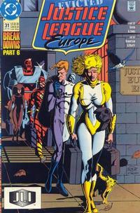 Cover Thumbnail for Justice League Europe (DC, 1989 series) #31 [Direct]