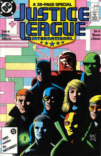 Cover Thumbnail for Justice League International (DC, 1987 series) #7 [Direct]