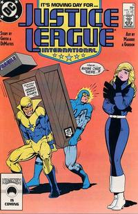 Cover Thumbnail for Justice League International (DC, 1987 series) #8