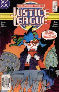 Cover Thumbnail for Justice League International (DC, 1987 series) #9 [Direct]