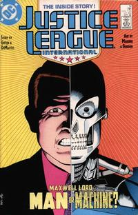 Cover Thumbnail for Justice League International (DC, 1987 series) #12