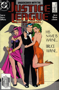 Cover Thumbnail for Justice League International (DC, 1987 series) #16 [Direct]