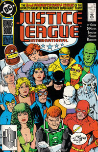 Cover Thumbnail for Justice League International (DC, 1987 series) #24