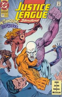 Cover Thumbnail for Justice League International (DC, 1993 series) #53