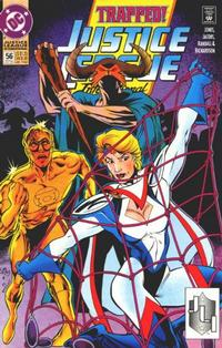 Cover Thumbnail for Justice League International (DC, 1993 series) #56