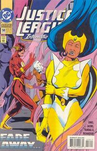 Cover Thumbnail for Justice League International (DC, 1993 series) #58