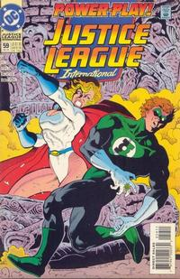 Cover Thumbnail for Justice League International (DC, 1993 series) #59