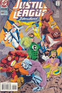 Cover Thumbnail for Justice League International (DC, 1993 series) #60