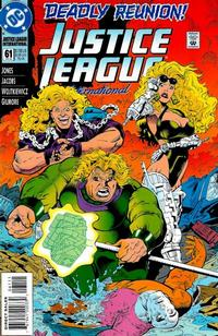 Cover Thumbnail for Justice League International (DC, 1993 series) #61