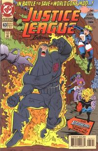 Cover Thumbnail for Justice League International (DC, 1993 series) #63