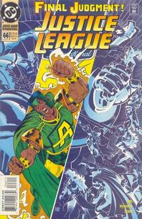 Cover Thumbnail for Justice League International (DC, 1993 series) #66
