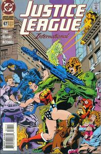 Cover Thumbnail for Justice League International (DC, 1993 series) #67
