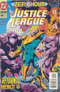 Cover Thumbnail for Justice League International (DC, 1993 series) #68
