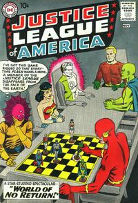 Cover Thumbnail for Justice League of America (DC, 1960 series) #1