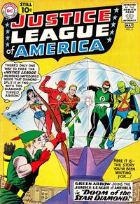 Cover Thumbnail for Justice League of America (DC, 1960 series) #4