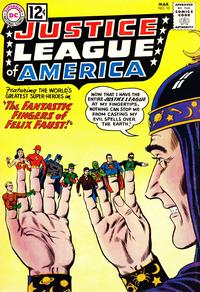 Cover Thumbnail for Justice League of America (DC, 1960 series) #10