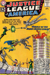 Cover Thumbnail for Justice League of America (DC, 1960 series) #13