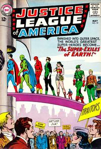 Cover Thumbnail for Justice League of America (DC, 1960 series) #19