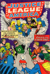 Cover Thumbnail for Justice League of America (DC, 1960 series) #21