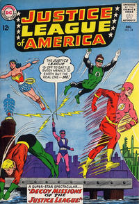 Cover Thumbnail for Justice League of America (DC, 1960 series) #24