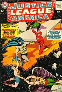 Cover Thumbnail for Justice League of America (DC, 1960 series) #31