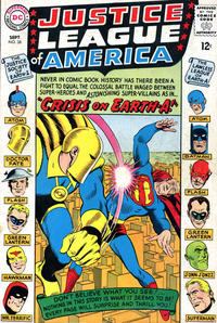 Cover Thumbnail for Justice League of America (DC, 1960 series) #38