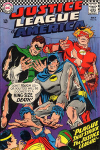 Cover Thumbnail for Justice League of America (DC, 1960 series) #44
