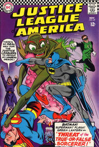 Cover Thumbnail for Justice League of America (DC, 1960 series) #49