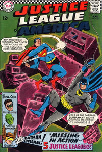 Cover Thumbnail for Justice League of America (DC, 1960 series) #52