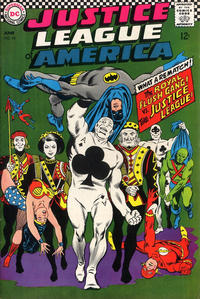Cover Thumbnail for Justice League of America (DC, 1960 series) #54