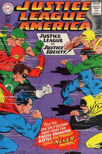 Cover Thumbnail for Justice League of America (DC, 1960 series) #56